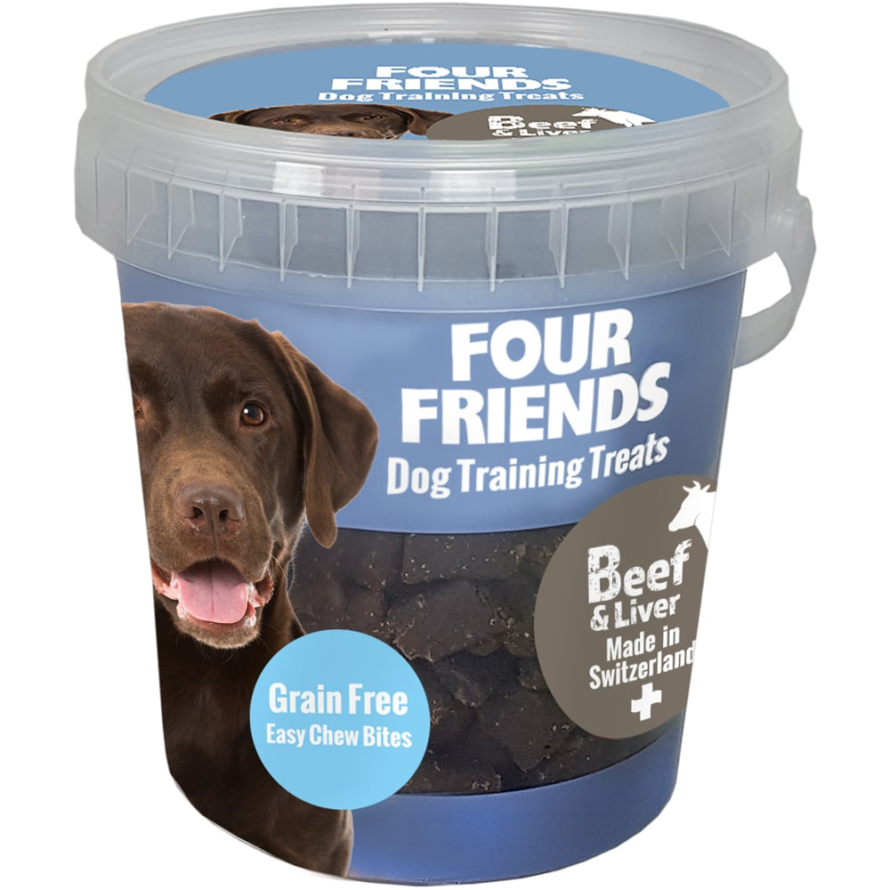 Hundegodbidder  Treats Beef & Liver FourFriends