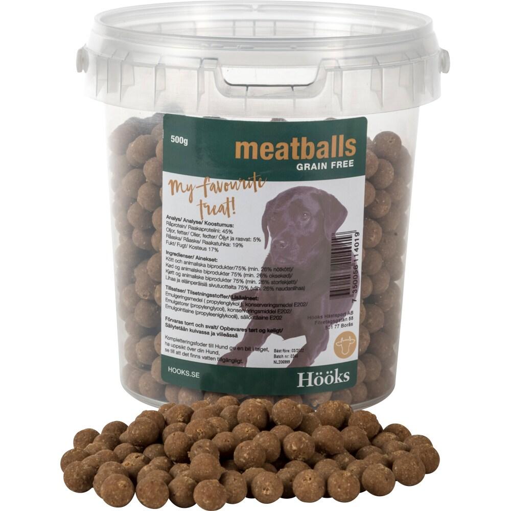Hundegodbidder  Meatballs Hööks