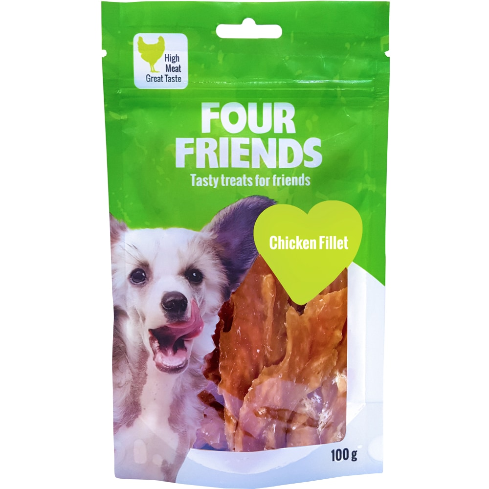 Hundegodbidder  Chicken Fillet 100 g FourFriends