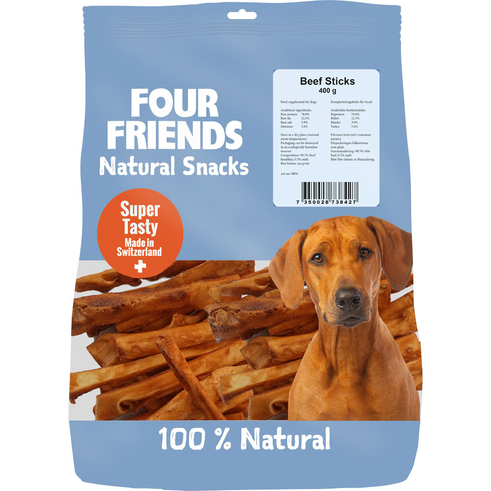 Naturgodbid  Beef Sticks 400 g FourFriends