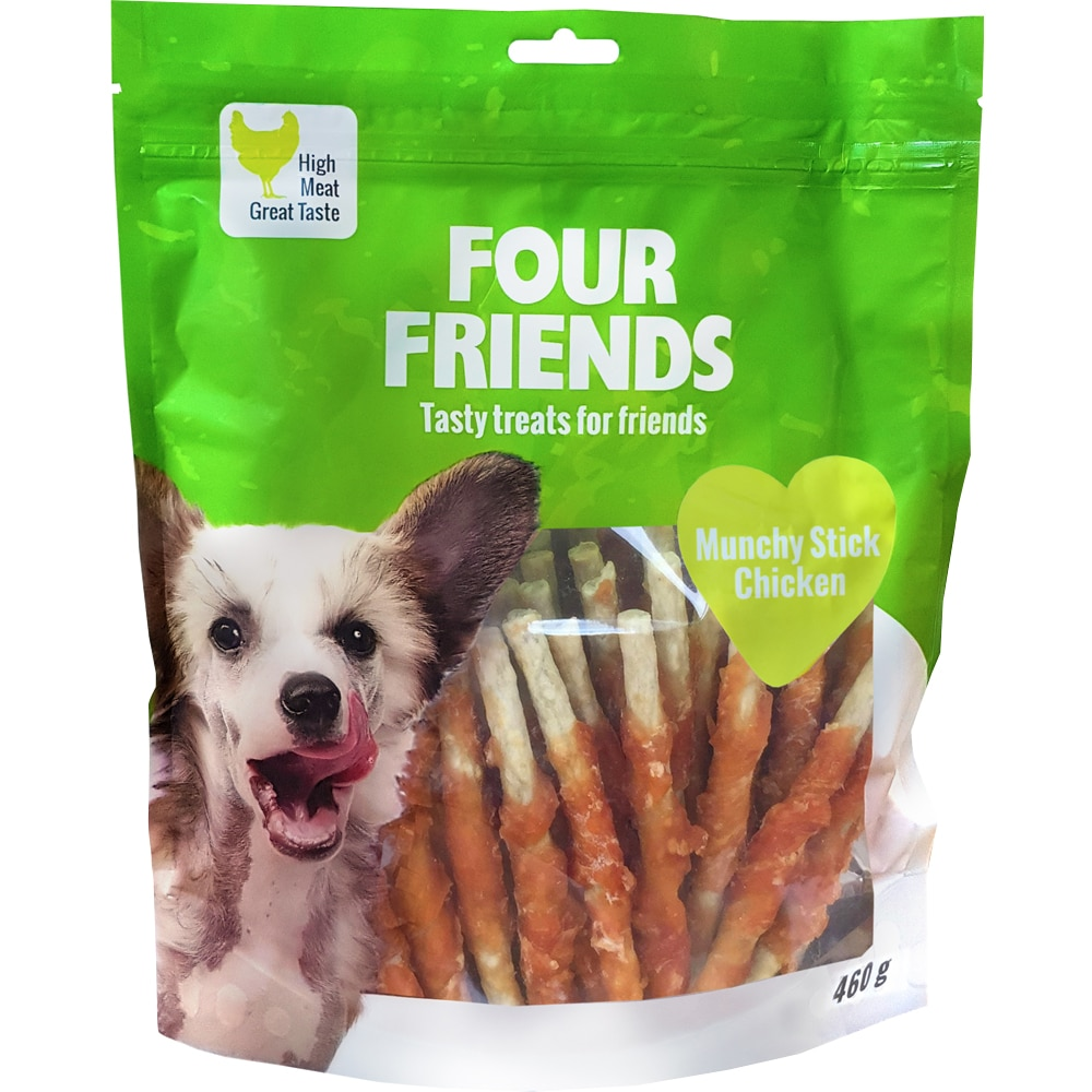 Tyggeben  Munchy Stick Chicken 460g FourFriends