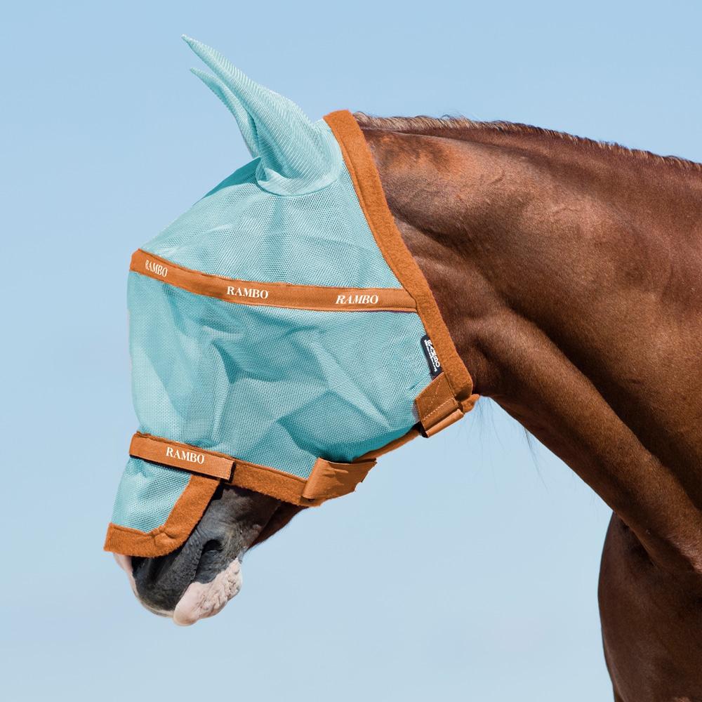 Fluemaske  Rambo® Plus Horseware®
