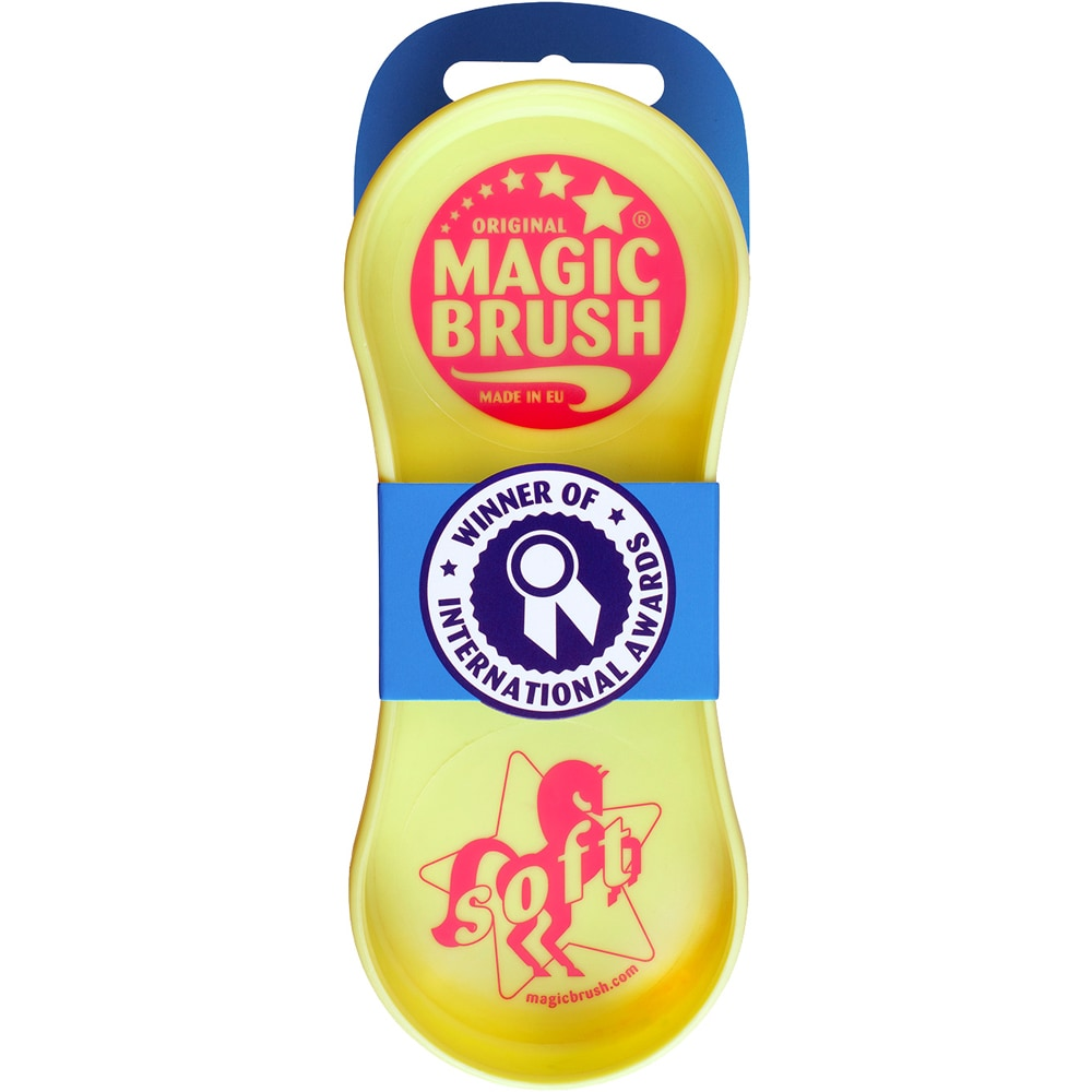 Plastikstrigle  Soft Magic Brush