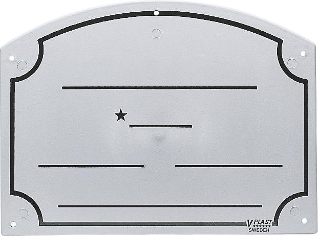 Bokstavle Navn  V-PLAST