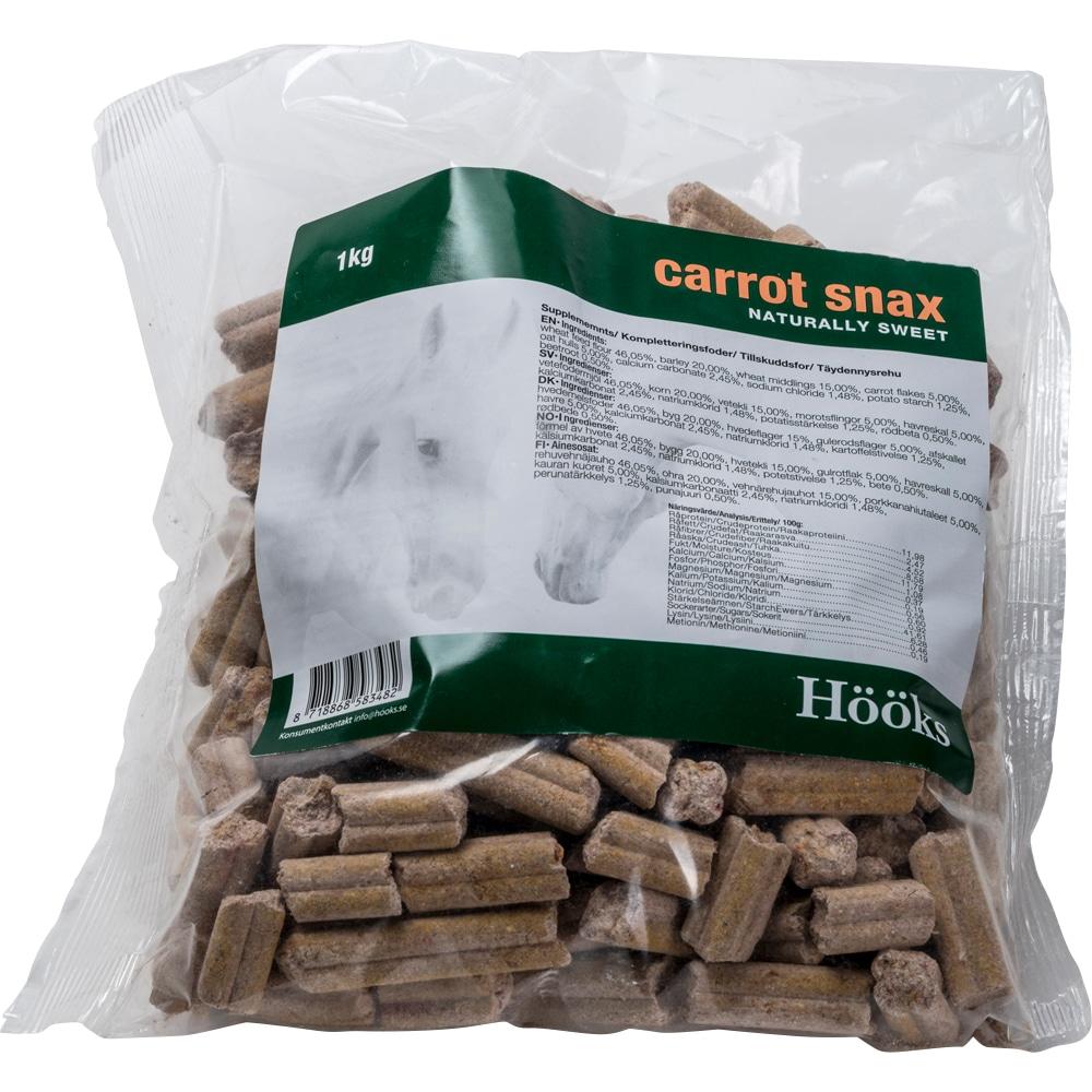 Hestegodbidder  Carrot snax natural 1 kg Hööks