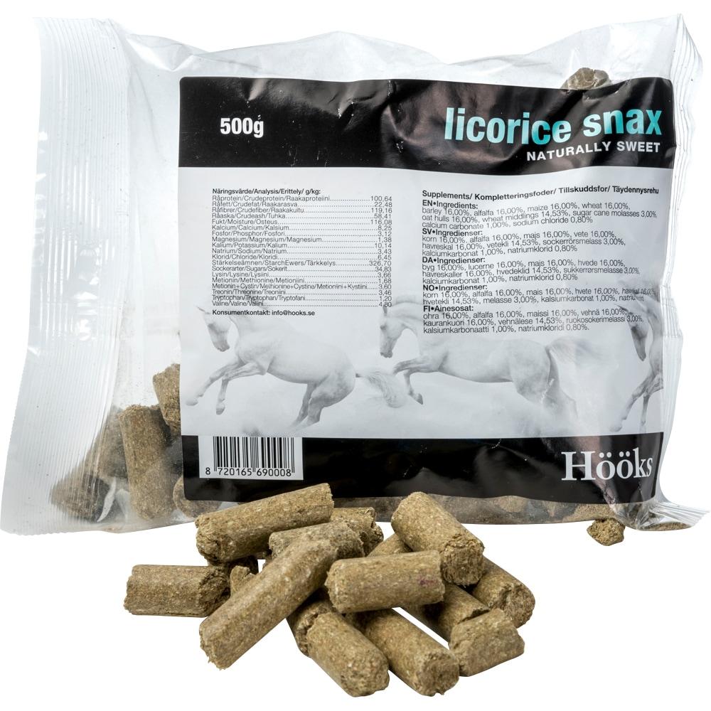 Hestegodbidder 1 kg Licorice Snax Hööks