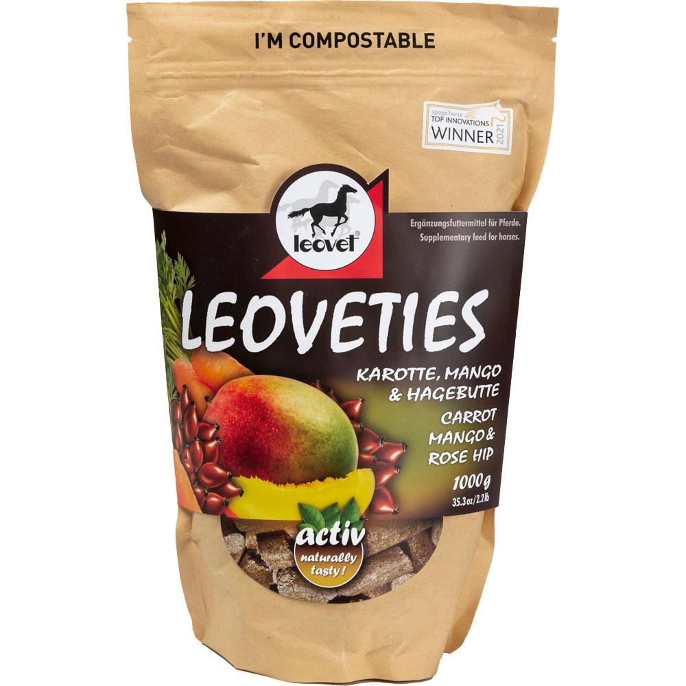Hestegodbidder  Leoveties Carrot, Mango & Rosehip leovet®