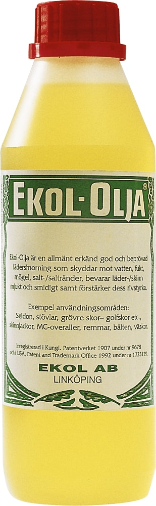 Læderolie Ufarvet  Ekol